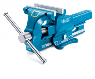 "Parallel Vice ""HEUER"", Size 160, with replaceable jaws"